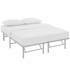 Modway Horizon Queen Stainless Steel Bed Frame in Gray MY-MOD-5429-GRY