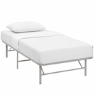 Modway Horizon Twin Stainless Steel Bed Frame in Gray MY-MOD-5427-GRY