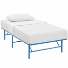 Modway Horizon Twin Stainless Steel Bed Frame in Light Blue MY-MOD-5427-LBU