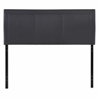 Modway Isabella Queen Faux Leather Headboard in Black MY-MOD-5132-BLK