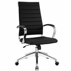Modway Jive Highback Faux Leather Office Chair in Black MY-EEI-272-BLK