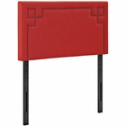 Modway Josie Twin Upholstered Fabric Headboard in Atomic Red MY-MOD-5398-ATO