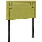 Modway Josie Twin Upholstered Fabric Headboard in Wheatgrass MY-MOD-5398-WHE