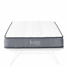 "Modway Kate 8"" Twin Innerspring Mattress in  MY-MOD-5776-WHI"