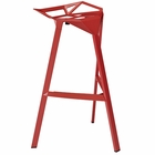 Modway Launch Stacking Bar Stool in Red MY-EEI-1024-RED