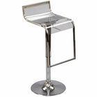 Modway LEM Acrylic Bar Stool in Clear MY-EEI-535-CLR