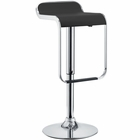 Modway LEM Faux Leather Bar Stool in Black MY-EEI-169-BLK