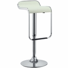Modway LEM Faux Leather Bar Stool in White MY-EEI-169-WHI