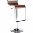 Modway LEM Wood Bar Stool in Walnut MY-EEI-605-WAL