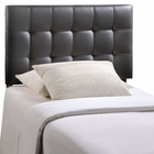 Modway Lily Twin Tufted Faux Leather Headboard in Black MY-MOD-5149-BLK