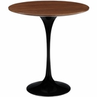 "Modway Lippa 20"" Wood Top Side Table in Black MY-EEI-270-BLK"
