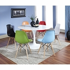 Modway Lippa 7 Piece Fiberglass Dining Set in Multicolored MY-EEI-857