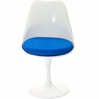 Modway Lippa Dining Upholstered Fabric Side Chair in Blue MY-EEI-115-BLU