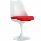 Modway Lippa Dining Upholstered Fabric Side Chair in Red MY-EEI-115-RED