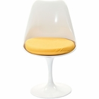 Modway Lippa Dining Upholstered Fabric Side Chair in Yellow MY-EEI-115-YLW