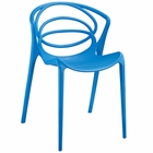 Modway Locus Dining Side Chair in Blue MY-EEI-1451-BLU