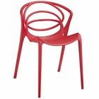 Modway Locus Dining Side Chair in Red MY-EEI-1451-RED