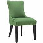 Modway Marquis Upholstered Fabric Dining Chair in Kelly Green MY-EEI-2229-GRN