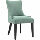 Modway Marquis Upholstered Fabric Dining Chair in Laguna MY-EEI-2229-LAG