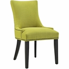Modway Marquis Upholstered Fabric Dining Chair in Wheatgrass MY-EEI-2229-WHE