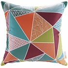 Modway Modway Outdoor Patio Single Pillow in Mosaic MY-EEI-2156-MOS