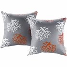 Modway Modway Two Piece Outdoor Patio Throw Pillows Set of 2 in Orchard MY-EEI-2401-ORC