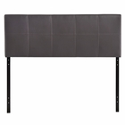Modway Oliver Queen Faux Leather Headboard in Brown MY-MOD-5131-BRN