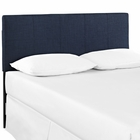 Modway Oliver Queen Upholstered Fabric Headboard in Navy MY-MOD-5042-NAV