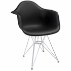 Modway Paris Dining Armchair in Black MY-EEI-181-BLK