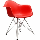 Modway Paris Dining Armchair in Red MY-EEI-181-RED