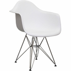 Modway Paris Dining Armchair in White MY-EEI-181-WHI