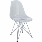 Modway Paris Dining Side Chair in Clear MY-EEI-220-CLR