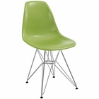 Modway Paris Dining Side Chair in Green MY-EEI-179-LGN