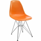Modway Paris Dining Side Chair in Orange MY-EEI-179-ORA
