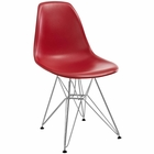 Modway Paris Dining Side Chair in Red MY-EEI-179-RED