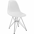 Modway Paris Dining Side Chair in White MY-EEI-179-WHI