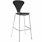 Modway Passage Dining Bar Stool in Black MY-EEI-2674-BLK