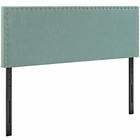 Modway Phoebe King Upholstered Fabric Headboard in Laguna MY-MOD-5388-LAG