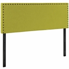 Modway Phoebe King Upholstered Fabric Headboard in Wheatgrass MY-MOD-5388-WHE