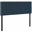 Modway Phoebe Queen Upholstered Fabric Headboard in Azure MY-MOD-5386-AZU