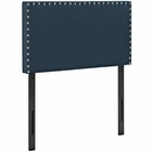Modway Phoebe Twin Upholstered Fabric Headboard in Azure MY-MOD-5382-AZU