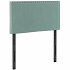 Modway Phoebe Twin Upholstered Fabric Headboard in Laguna MY-MOD-5382-LAG