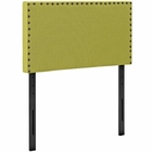 Modway Phoebe Twin Upholstered Fabric Headboard in Wheatgrass MY-MOD-5382-WHE