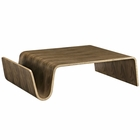 Modway Polaris Wood Coffee Table in Walnut MY-EEI-2091-WAL