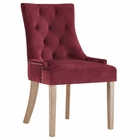 Modway Pose Velvet Dining Chair in Maroon MY-EEI-2577-MAR