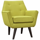 Modway Posit Upholstered Fabric Armchair in Wheatgrass MY-EEI-2136-WHE
