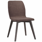 Modway Proclaim Dining Side Chair in Walnut Mocha MY-EEI-1622-WAL-MOC
