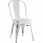 Modway Promenade Steel Dining Side Chair in White MY-EEI-2027-WHI