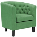 Modway Prospect Upholstered Fabric Armchair in Kelly Green MY-EEI-2551-GRN