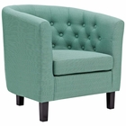 Modway Prospect Upholstered Fabric Armchair in Laguna MY-EEI-2551-LAG